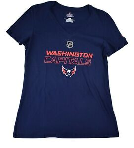 Majestic Womens NHL Washington Capitals Hockey Shirt New M