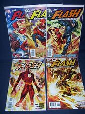 Flash The Fastest Man Alive #1 - #5 Nm with Bag and Board Dc Comics 2006