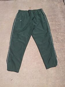Warrior Vision Warm Up Pants Green All Sizes