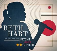 BETH HART CD - FRONT AND CENTER: LIVE FROM NEW YORK [CD/DVD](2018) NEW UNOPENED