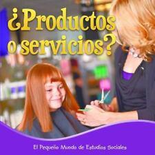Productos o servicios? / Products or Services? (El Pequeño Mundo De Estudios Soc