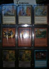 """Magic: The Gathering """"Invasion"""" Common, UnCommon and Rare Cards"""