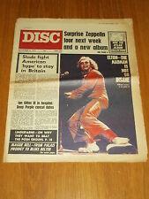 DISC AND MUSIC ECHO NOVEMBER 6 1971 SLADE LED ZEPPELIN ELTON JOHN LINDISFARNE