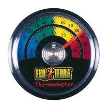 Exo Terra analogique Gauge Thermomètre de température en Reptile Vivarium