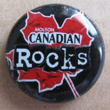 OBSOLETE MOLSON CANADIAN ROCKS NO DENTS USED BEER BOTTLE CAP