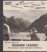 Sub-Arctic Navigation Ltd Canada Brochure 1971