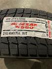 4 New 215 45 17 Bridgestone Blizzak Ws80 Snow Tires