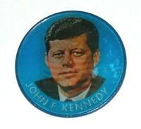 1960 JOHN F. KENNEDY JFK FLASHER VARIVUE campaign pin pinback button political