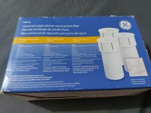 GE Universal Water Pitcher Replacement Filter FXPL3D 3-Pack