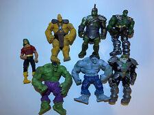 Marvel Universe 3.75 Hulk Lot Gladiator Grey Doc Sampson Korg Maestro Marvel Now