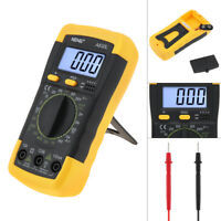LCD Digital Multimeter Voltmeter Ohmmeter Ammeter Capacitance OHM Tester AC/DC