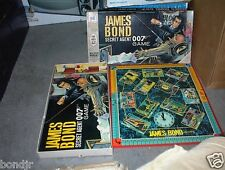 Milton Bradley James Bond Secret Agent 007 Board Game (1964) SEAN CONNERY