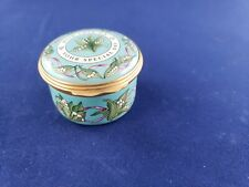 "Halcyon Days Enamel Box ""With Love On Your Special Day"""