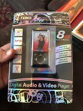 "Naxa NMV-173N 1.8"" LCD Portable 8GB MP3/MP4 Player +FM Radio +Voice Recording"