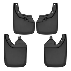 Husky 56946 Front and Rear Mud Guard Set for Toyota Tacoma with OE Fender Flares