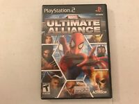 Marvel Ultimate Alliance PS2 PlayStation 2 video game tested