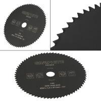 HSS Circular Wood Cutting Saw Blade Discs Mandrel Drill For Rotary Tool