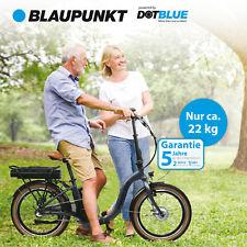 Blaupunkt FRANZI 500 | Falt-E-Bike, Citybike, Klapprad, StVZO, 20 Zoll, leicht