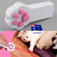 Funny Cat Claw Shape Beam Interactive Laser Pointer Pet Cat Dog Playing Toy EA