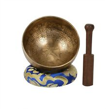 Handmade Meditation Singing Bowl for Relaxation and Healing- SP(ANTIQUE-2) (B9)