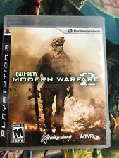 Call Of Duty Modern Warfare 2 - COD MW2 - PS3 - Complete - Disc & Case Manual
