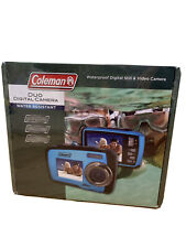 Coleman Duo 2V7WP-BL 14.0MP Digital Camera, Water Resistant- Blue
