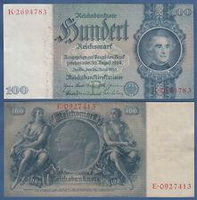 100 Reichsmark 24.6.1935  Erh.II / XF  Ro.176 a