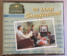 EUROVISION SongFestival GREATEST HIT 2cd BOX Rare 40 JAAR DUTCH IMPORT NEW