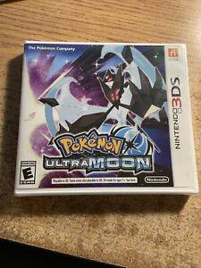 Pokémon Ultra Moon (3DS, 2017) New Sealed