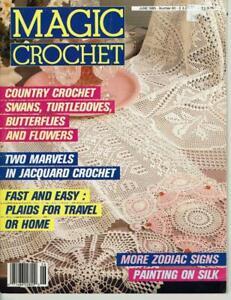 Magic Crochet Magazine No. 60 June 1989
