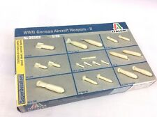 Italeri 1:72 26102 Luftwaffe ww2 Weapons Set 2 Model Aircraft Accessory Kit Poison
