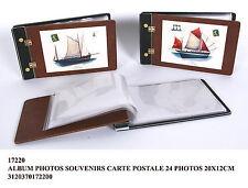 robusto album portafoto copertina rigida con cartolina barche 24 foto 20*12