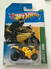HOT WHEELS 2012 Treasure Hunt Ducati 1098 Motorcycle