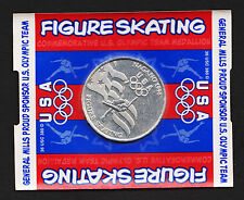 1998 Nagano General Mills Olympic Figure Skating Coin Token