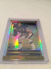 2003 Topps Chrome Football Todd Heap Baltimore Ravens Refractor parallel #105