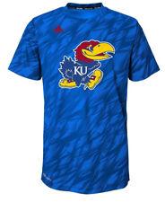 Youth Boys adidas BRAND KU Kansas Jayhawks Performace Shirt Size Large 7-8 79bb2d4eb