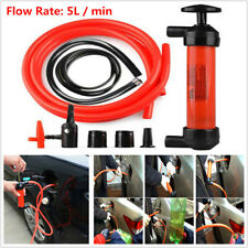 Manual Car Fuel Oil Fluid Suction Vacuum Extractor Transfer Syringe Pump 5L/min