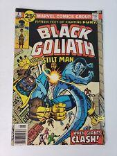 Black Goliath 4 (Marvel Comics) - 1976 mid grade condition (Chris Claremont)