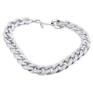 Necklace Pet Chain Collar Adjustable Length Photos Training Cat Plated Plastic C