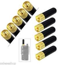 10pcs RT-805s Short Antenna SMA-F Female For BaoFeng /Kenwood/Retevis/HYT Radio