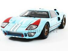 SHELBY COLLECTIBLES SC409 1966 66 FORD GT40 GT 40 MARK II 1/18 LIGHT BLUE