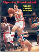 Sports Illustrated 1973 PETE MARAVICH Atlanta Hawks Basketball LSU No Label