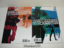 Challengers Of The Unknown #1 & 4 Comic Lot DC 2004 Howard Chaykin Classic Team
