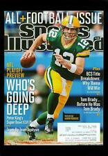 2012 Sports Illustrated: Aaron Rodgers- Green Bay Packers- NFL Playoff Preview