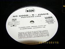 "No Good & Jiggy Lizard Lizard 12"" Single NM PROMO"