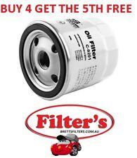OIL Filter HOLDEN CARS HOLDEN ASTRA TS TURBO 1.8L X18XE1 2.0L 1998 - 2005 BTP