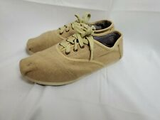 Toms Cordones Wool Womens sz 9 Lace Up Sneakers Shoes