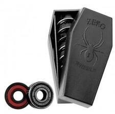 New Zero Black Widow Abec 5 Black Skateboard Bearings - (8 Pc)