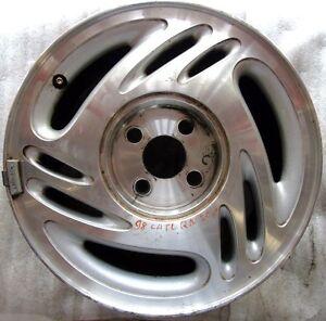 98 99 00 01 Saturn S SL1 SL2 15x6, 4 LUG, Aluminum Wheel Rim 07009 #SF-19