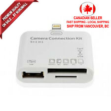 5 in 1 camera connection kit card reader for Apple iPad 4 iPad Mini